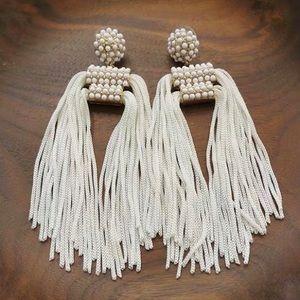 BaubleBar Bead Cord Drop Earrings